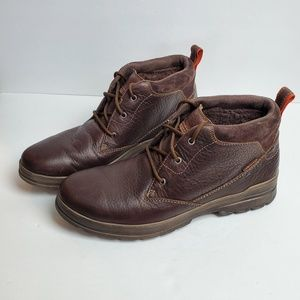 Clarks Waterproof Leather Warm Boots size 13